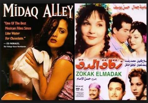 """فيلم """"زقاق المدق"""" بالعربية... والاسبانية، بطولة النجمة المكسيكية، اللبنانية الاصل، سلمى حايك"""